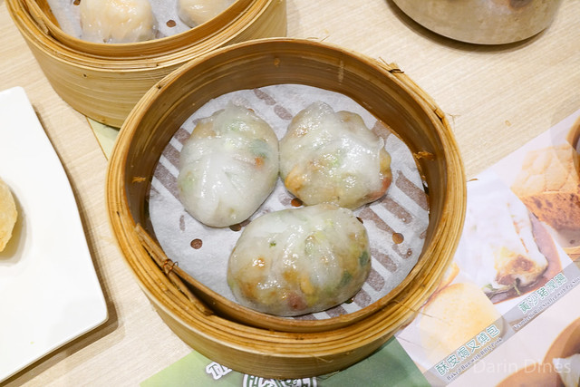 Steamed dumplings in chiu chow style