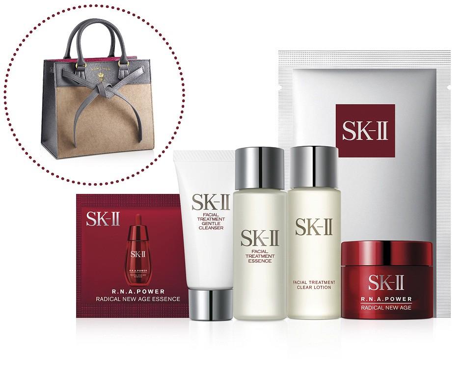 凡於百貨專櫃購買SK-II產品滿8
