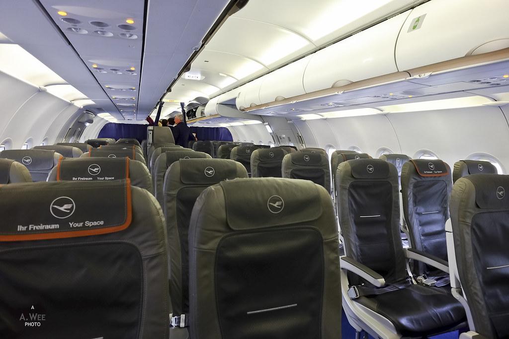 Lufthansa Intra Europe A321 Business Class Between Frankfurt And Paris Quirrow
