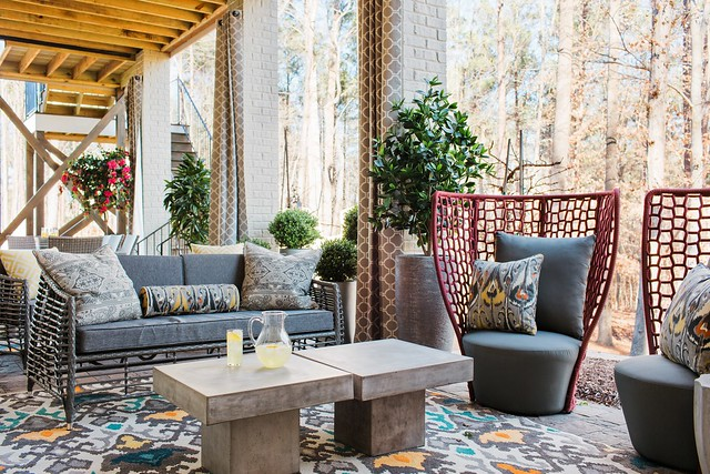 HGTV Smart Home 2016 Covered Porch