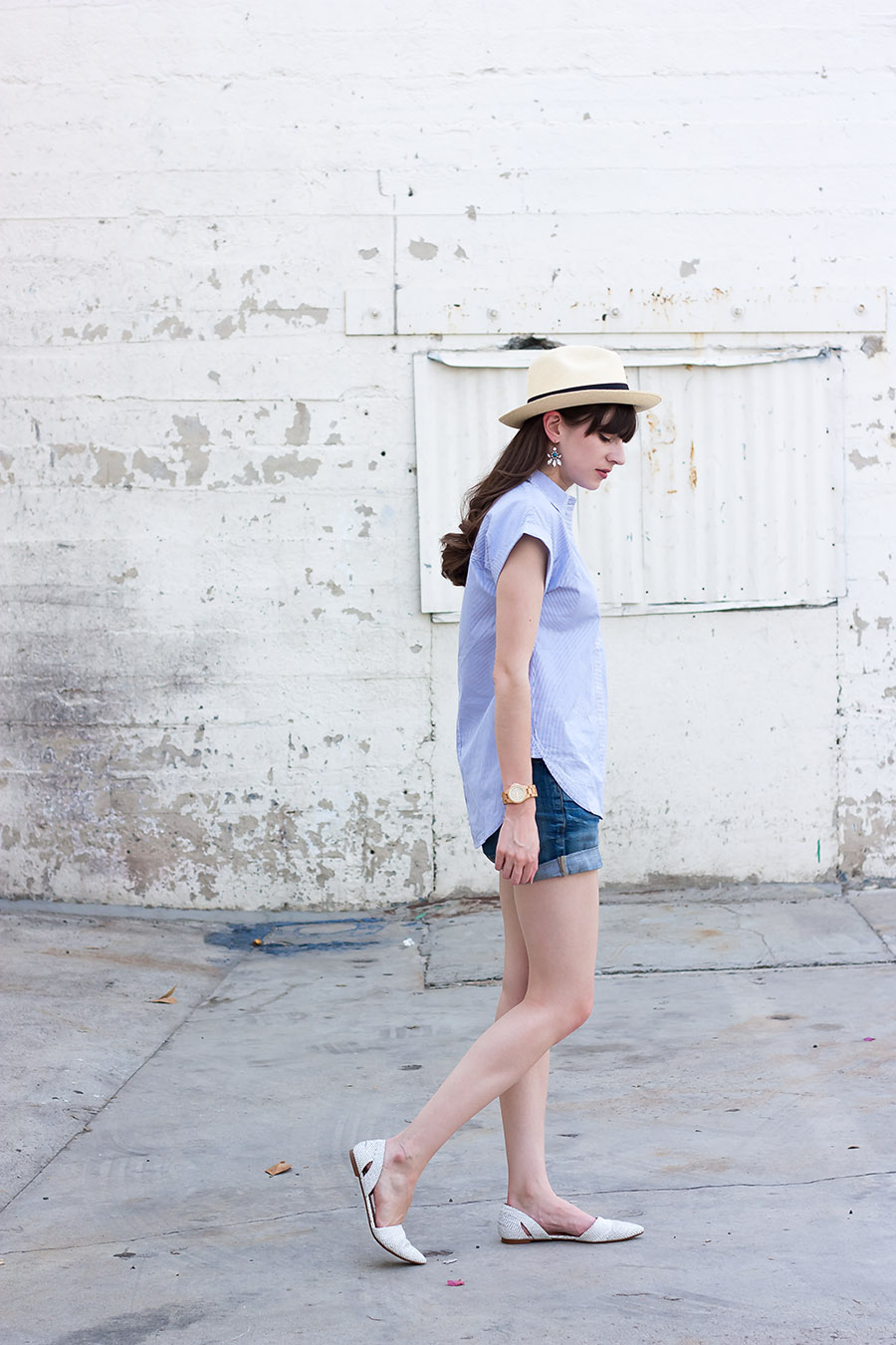 Casual Summer Outfit, Madewell Flats