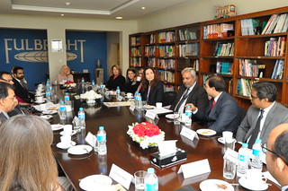 Assistant Secretary Ryan Meets With the Leadership of Pakistan-U.S. Alumni Network in Islamabad