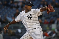 Luis Severino pitches vs. Mariners