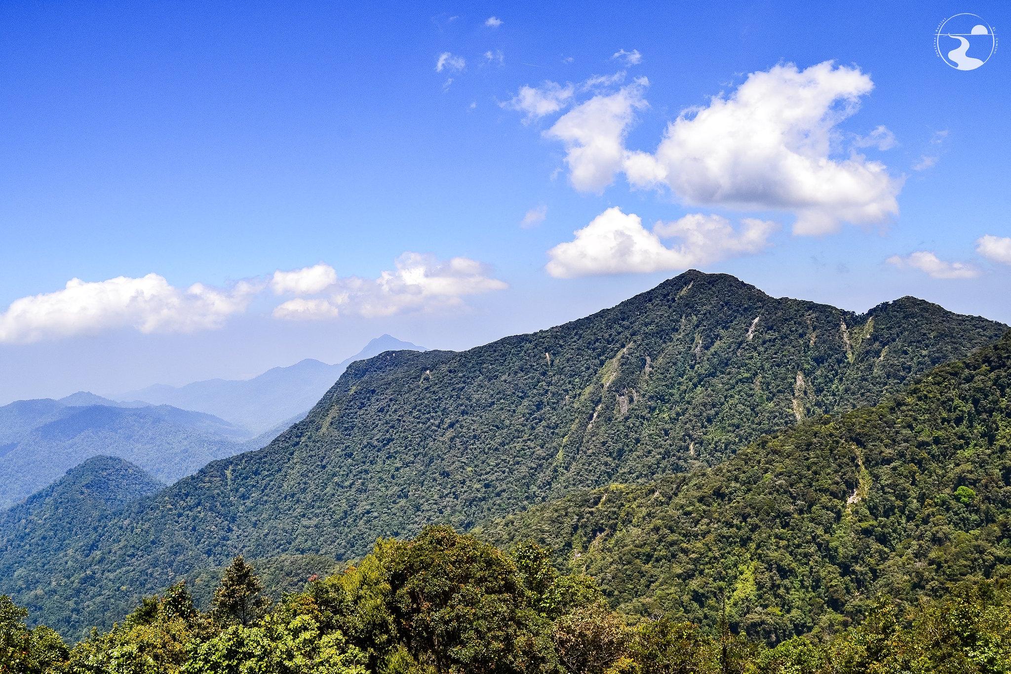 Desde la cumbre del Gunung Brinchan