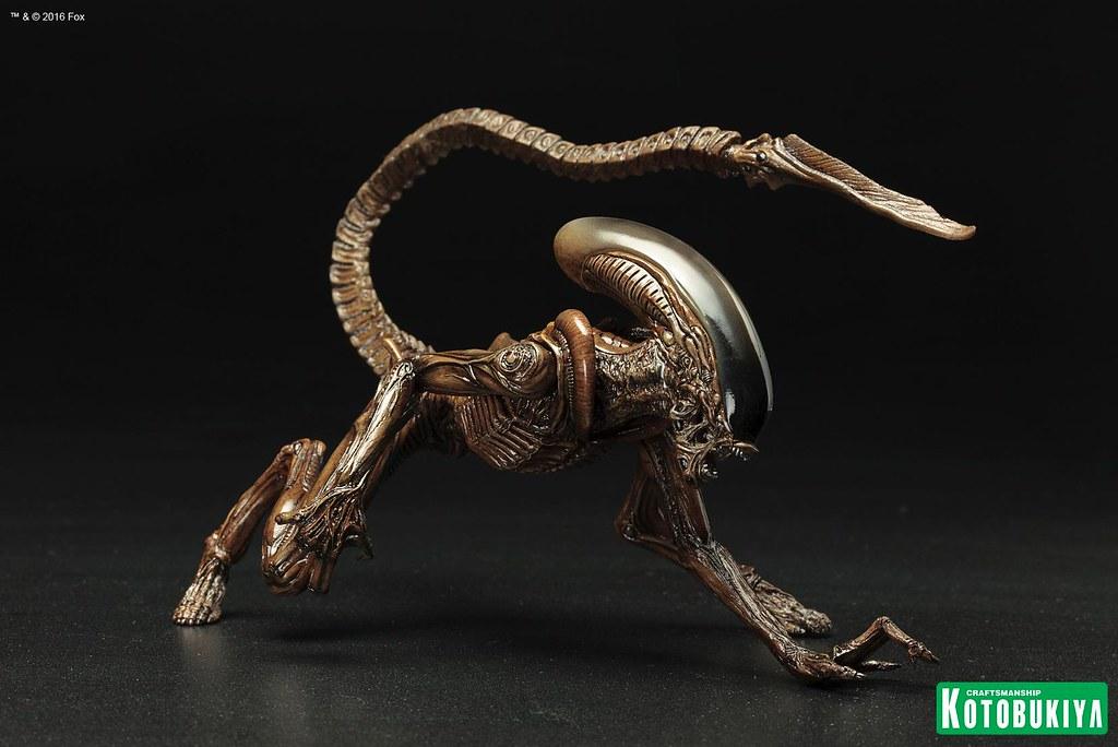 壽屋 ARTFX+ 系列【異形狗】終極人類最忠心的好朋友 Dog Alien 1/10 比例 全身雕像
