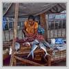 Fishmarket Negombo, Sri Lanka