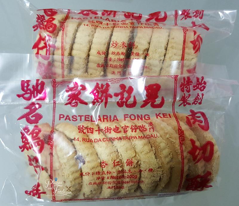 pastelaria fong kei almond cookies