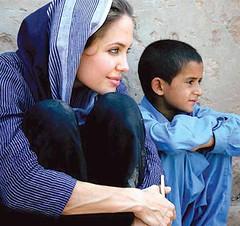 Angelina Jolie spotted wearing Salwar Kameez