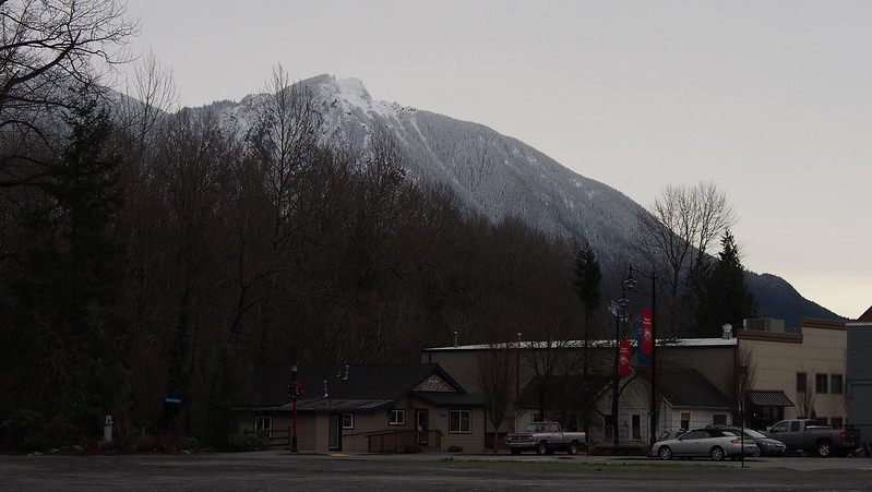 Mountains Over Snoqualmie