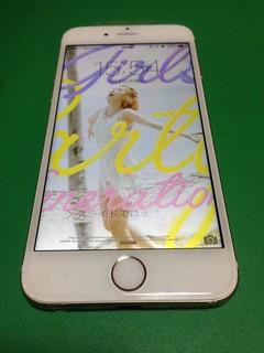 24_iPhone6のフロントパネルガラス割れ