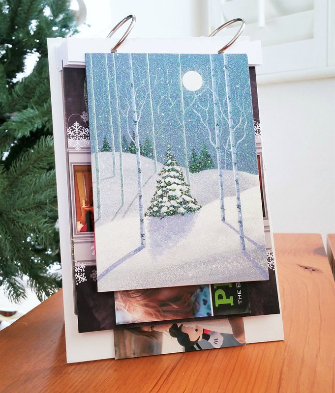 2014 Holiday Card Mini Album | shirley shirley bo birley Blog