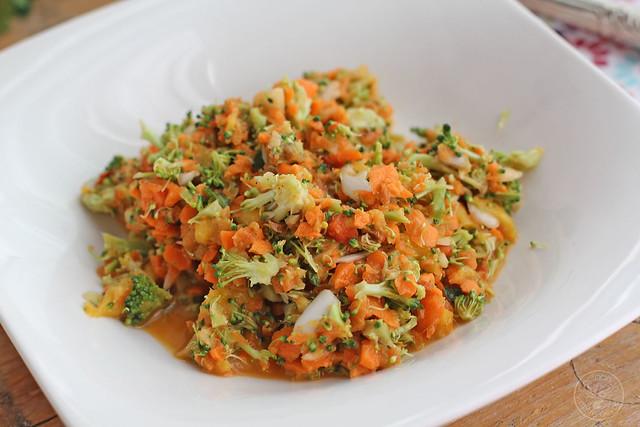 Ensalada de brócoli, zanahoria www.cocinandoentreolivos.com (2)