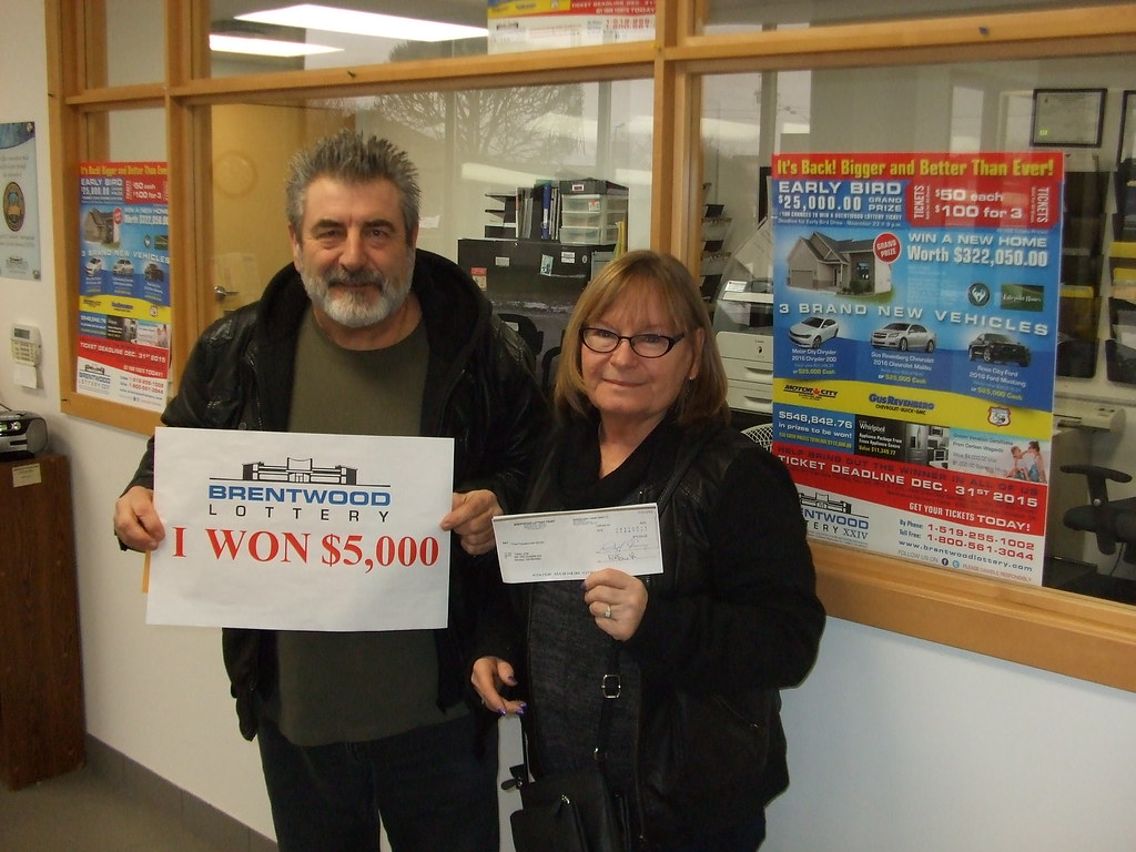 Judy Tracey and Frank Sterling won $5,000.