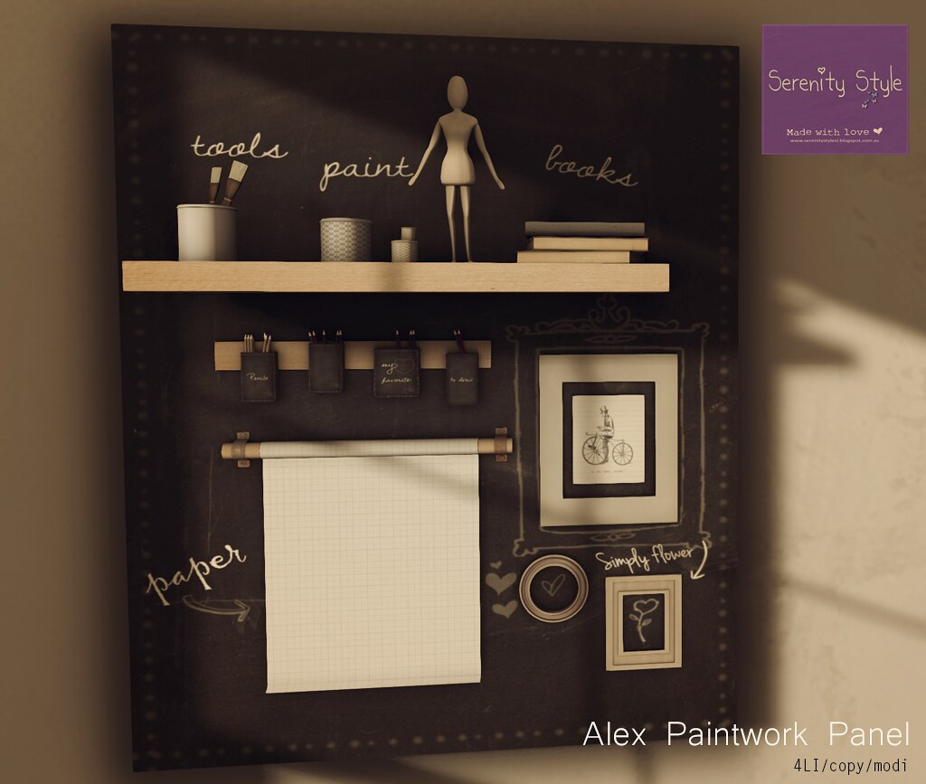 Serenity Style- Alex Paintwork Panel