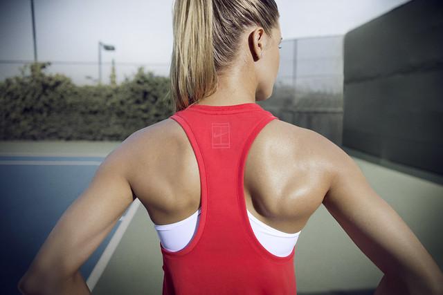 Genie Bouchard Australian Open outfit