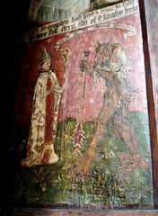 St Augustine & the Devil