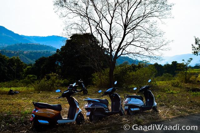 Mahindra Gusto125 vs Activa125 vs Suzuki access 125 -20