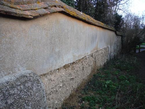 Wychert Wall, Haddenham