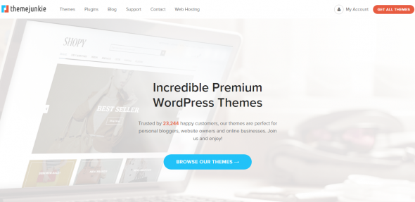 ThemeJunkie Premium Wordpress Theme Pack