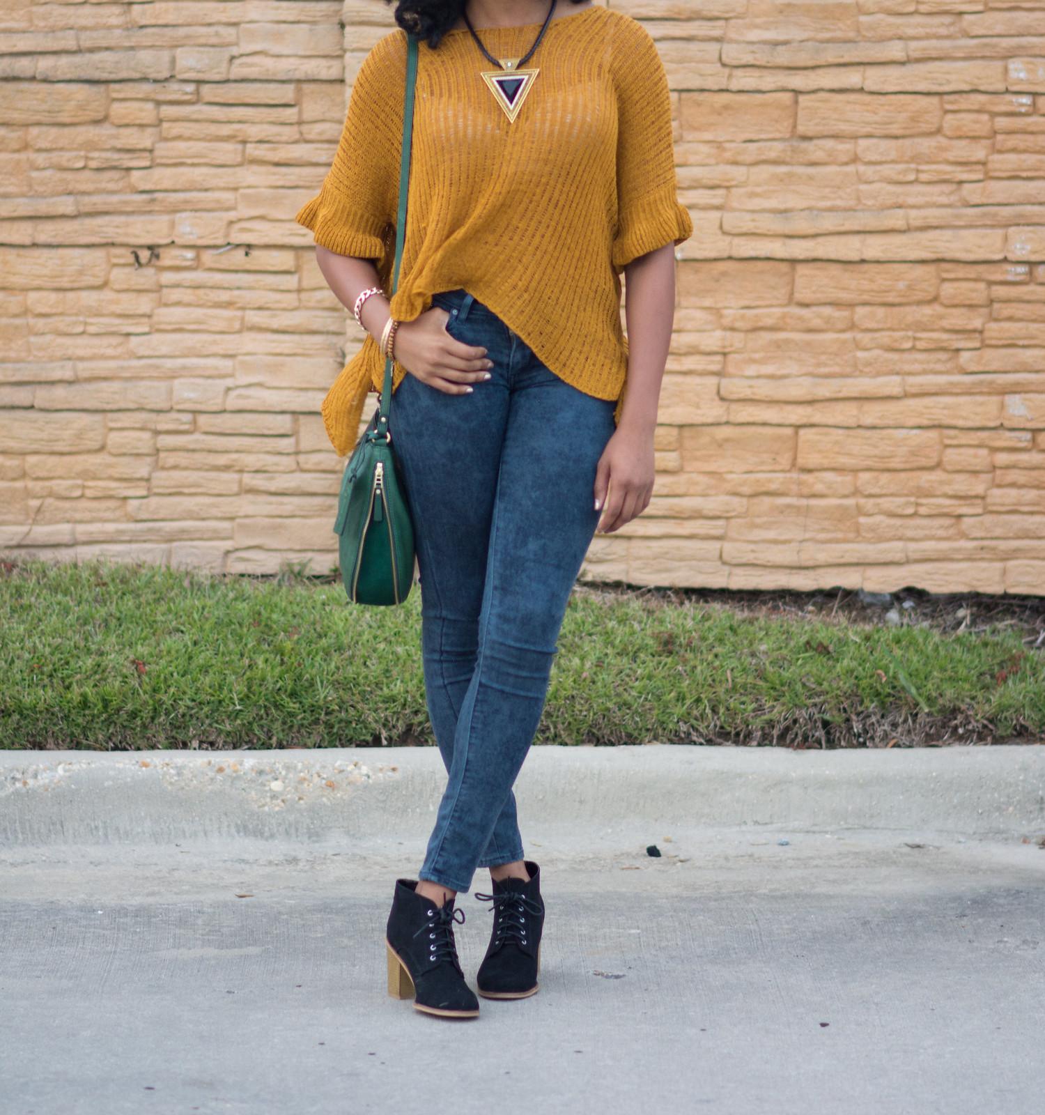 green fossil hobo baton rouge fashion blogger