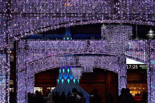 光の凱旋門_光の街・博多