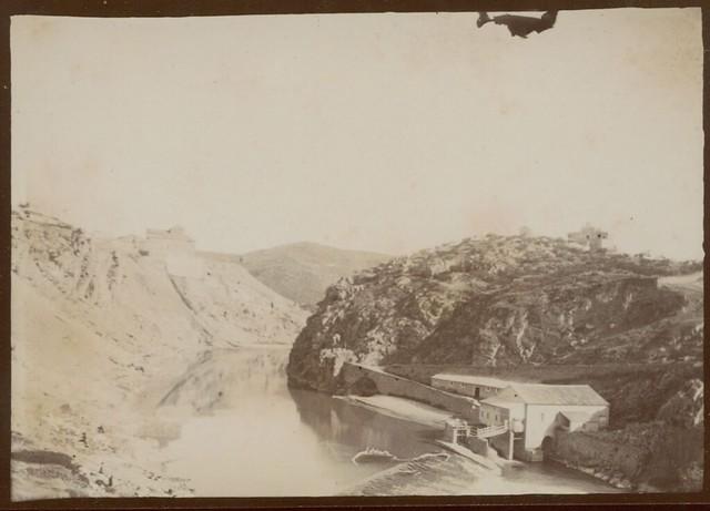 Molinos de Santa Ana en Toledo hacia 1909