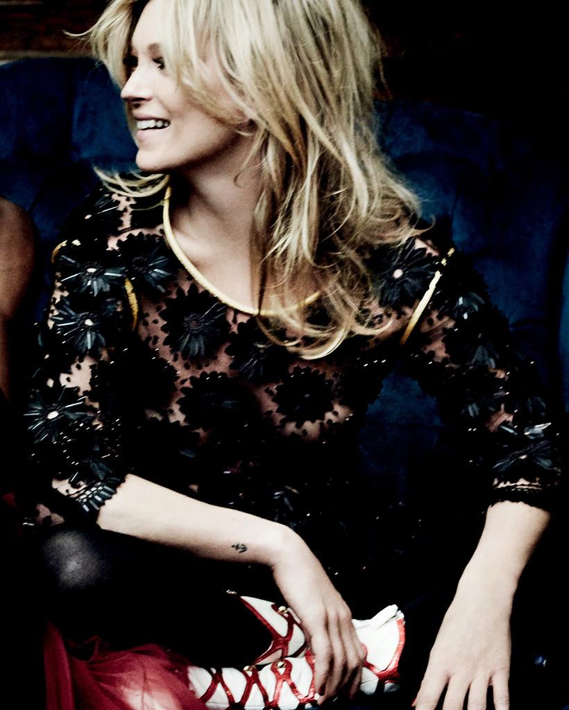 Кейт Мосс — Фотосессия для «Vogue» IT 2016 – 4
