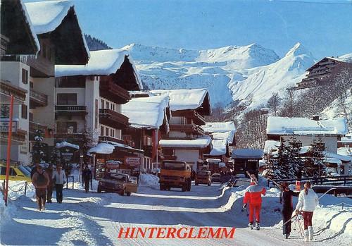 Austria - Salzburg - Hinterglemm - 1984 - front