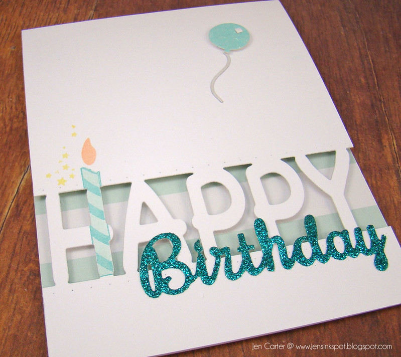 Jen Carter Happy Birthday Candle Closeup 2