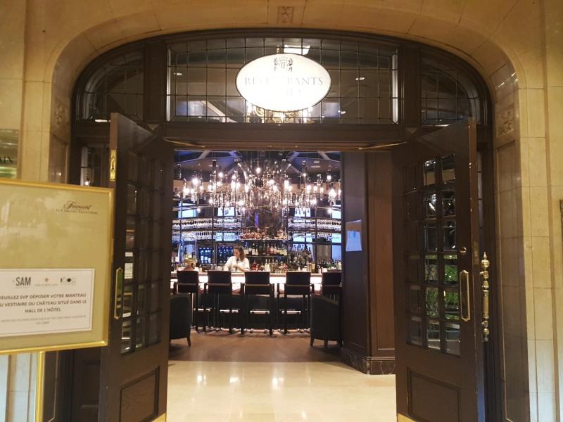Chateau Frontenac bar