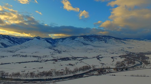 bridge winter sunset usa mountains cold art nature forest river landscape unmodified unitedstates artistic snowy bluesky idaho willow valley vista fields northamerica pastures rockymountains salmonriver pinetrees snowcovered unedited mountainscape drone highway93 nofilters ranchland bitterrootmountains noadjustments dji straightoffthecamera salmonidaho salmonrivervalley quadcopter lemhicounty ranchingcountry williamscreekroad phantom3professional snowstormclouds