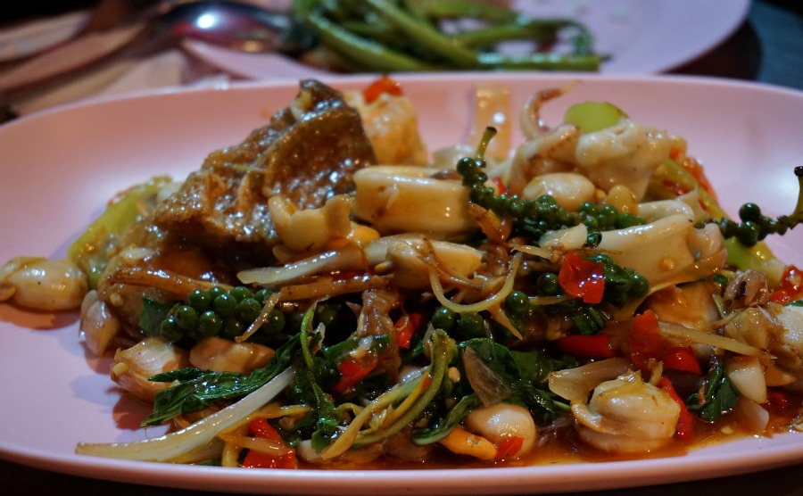 Seafood Curry in Bangkok's Chinatown