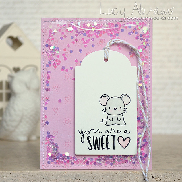 SweetHeart Mouse by Lucy Abrams