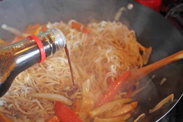 Fideos chinos con calamares y verdura (13)