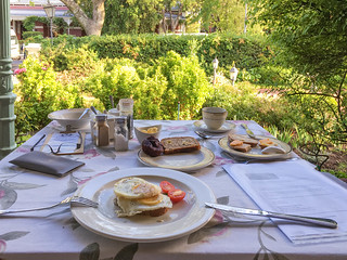 Frühstück Bonne Esperance, Stellenbosch