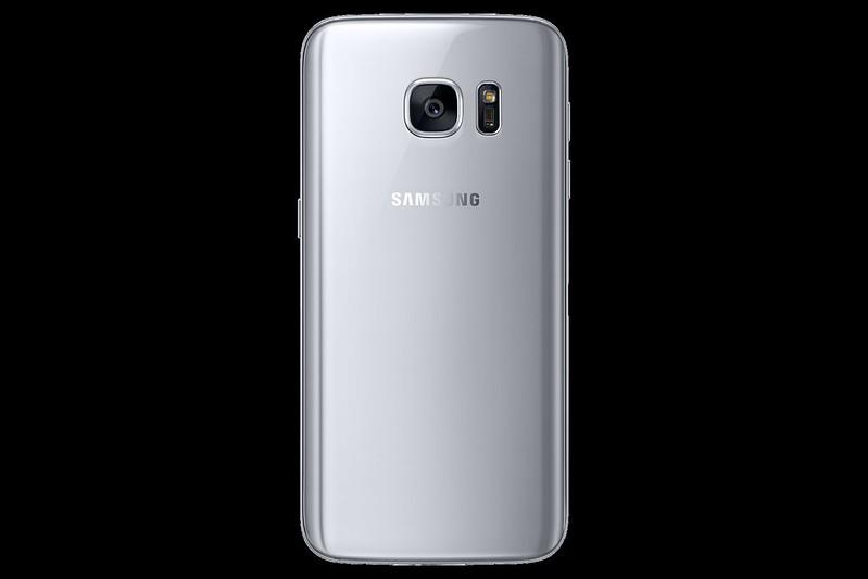 Samsung Galaxy S7 - Silver Titanium - Back