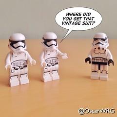 #LEGO #StarWars #LEGOstarWars #TFA #TheForceAwakens #ForceAwakens #Vintage #Stormtrooper #TK421 @starwars @starwarsclubve @disney @lego_group @lego @bricknetwork @brickcentral @bricksetofficial