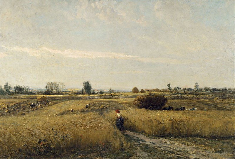 Charles-François Daubigny - Harvest (1851)