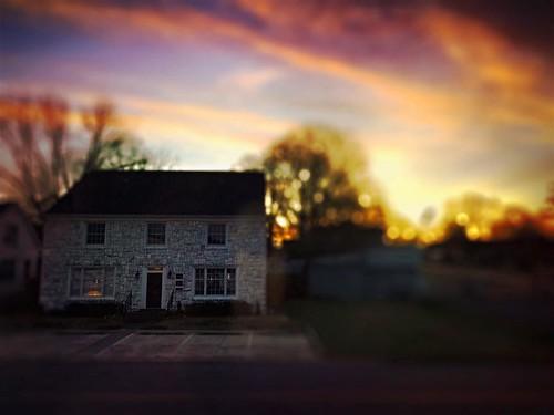 #daybreak in #jasperalabama #sunrise #cloudporn #mylifeinphotos