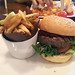 The Abbot Pub and Fare - the burger and fries