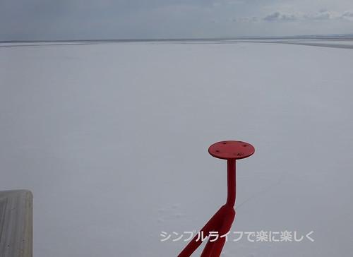 流氷、ガリンコ号流氷帯その2