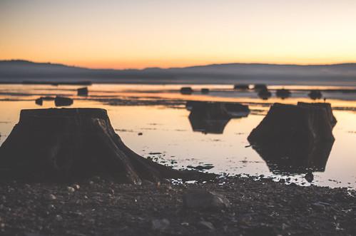 california ca sunset lake unitedstates chester northern almanor
