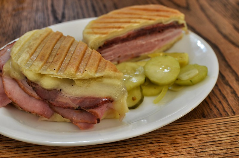 Mmm... ham and capicola with swiss