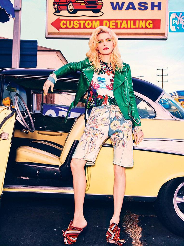 Джессика Стэм — Фотосессия для «Vogue» IT 2016 – 12