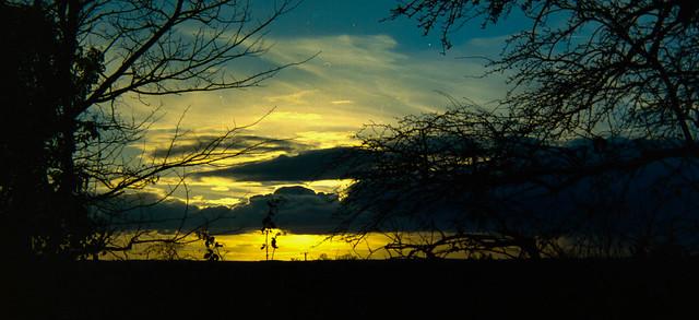 Staffordshire sunset