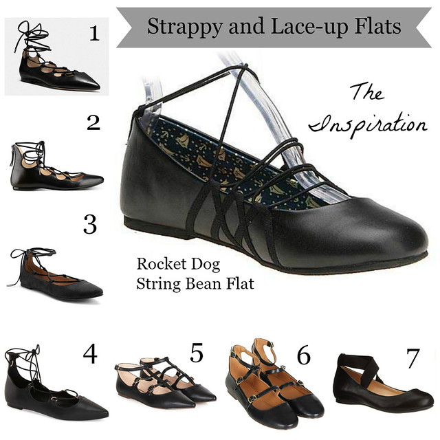 Strappy and Lace-Up Flats | shirley shirley bo birley Blog
