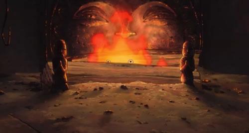 霍爾的移動城堡 火魔 卡西法