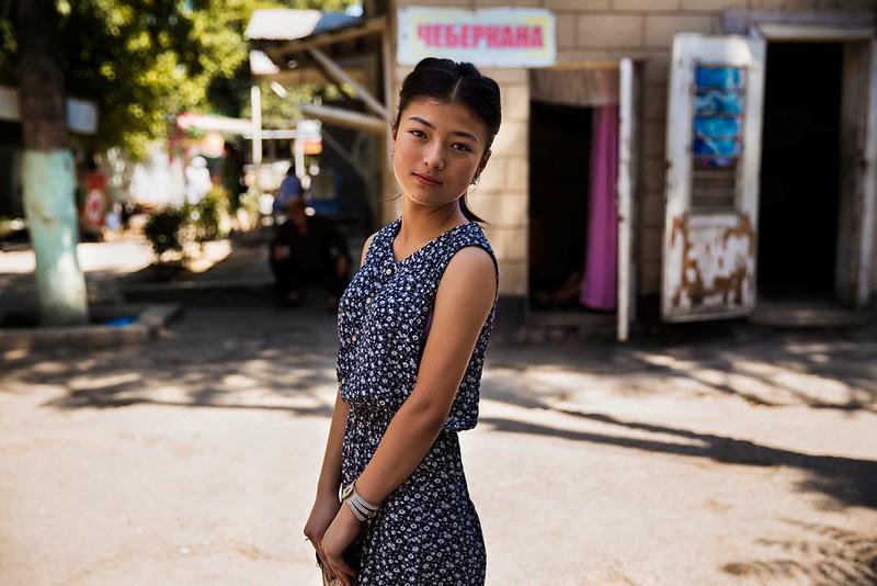 Portrait de femme, Osh Kyrgyzstan Photo: Mihaela Noroc