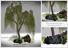 DD Enchanted Willow Tree Scene vendor A