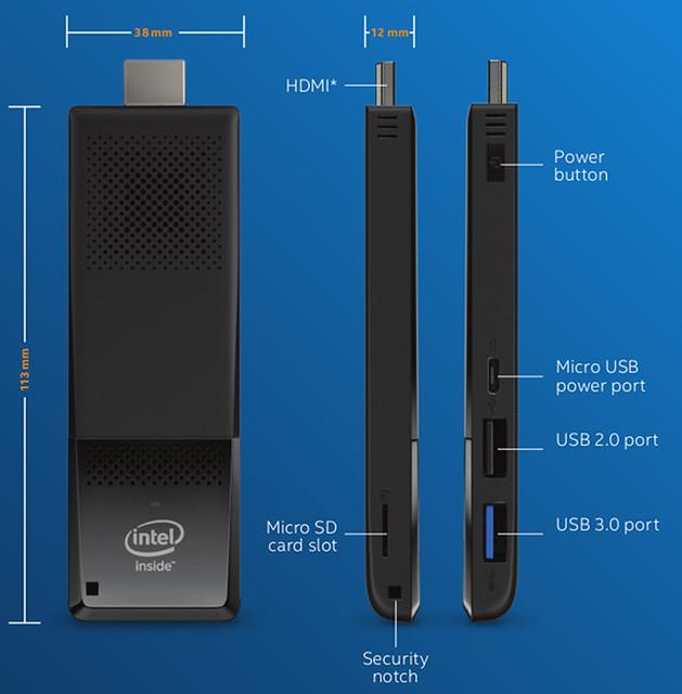 Intel Compute Stick Core M